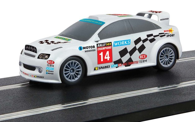 Scalextric: Start Rally Car (Team Modified) - Slot Car