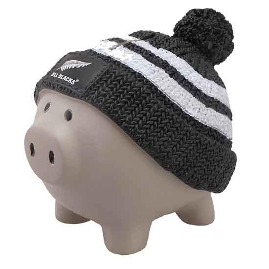 All Blacks - Beanie Piggy Bank