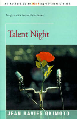 Talent Night by Jean Davies Okimoto image