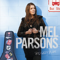Red Grey Blue by Mel Parsons