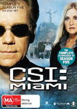 CSI - Miami: Complete Season 5 on DVD