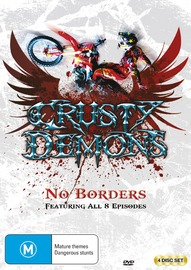 Crusty Demons No Borders on DVD
