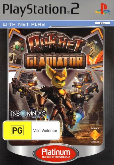 Ratchet Gladiator (Platinum) for PS2