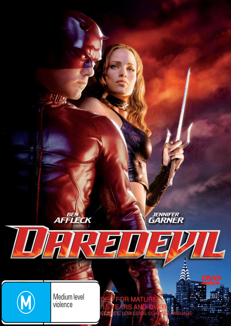 Daredevil on DVD image