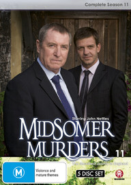 Midsomer Murders - Complete Season 11 (Single Case) on DVD
