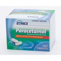 Ethics Paracetamol 500mg (100 CS Tablets)