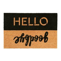 General Eclectic Hello Goodbye Doormat