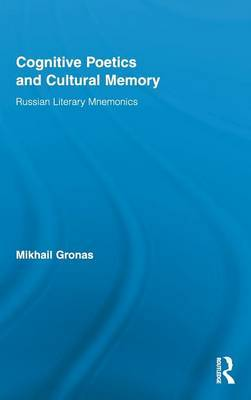 Cognitive Poetics and Cultural Memory by Mikhail Gronas image