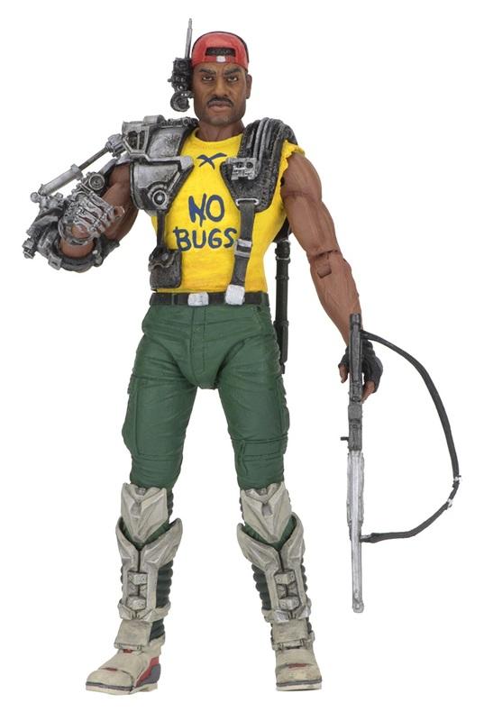 "Alien: Space Marine Sgt. Apone - 7"" Articulated Figure"