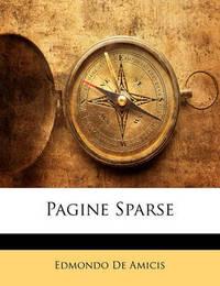 Pagine Sparse by Edmondo De Amicis