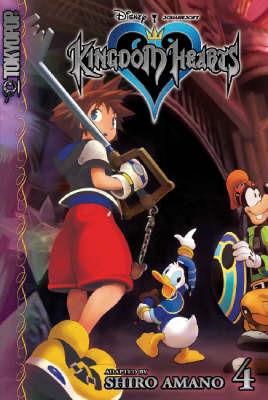 Kingdom Hearts: v. 4 by Shiro Amano