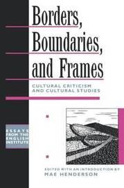 Borders, Boundaries, and Frames image