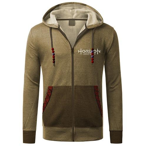 Horizon Zero Dawn Aloy Zip-up Hoodie (XX-Large)