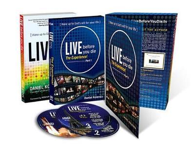 Live Before You Die-The Experience (Book + 3 DVDs) by Daniel Kolenda