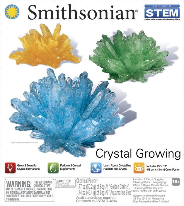 Smithsonian: Crystal Growing