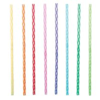 Rainbow Reusable Straws (Set of 24)