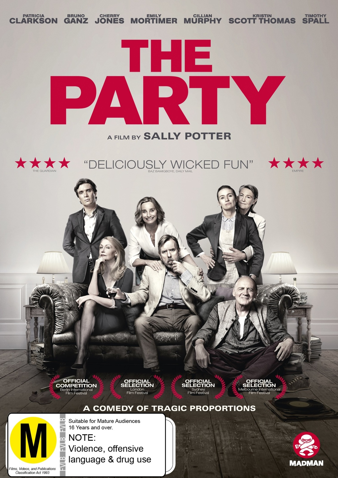 The Party on DVD image