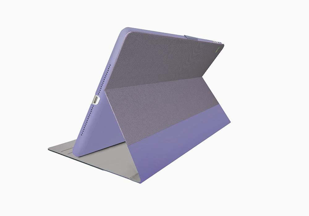"Cygnett: TekView with Apple pencil holder for iPad Pro 12.9"" Lilac/Purple image"
