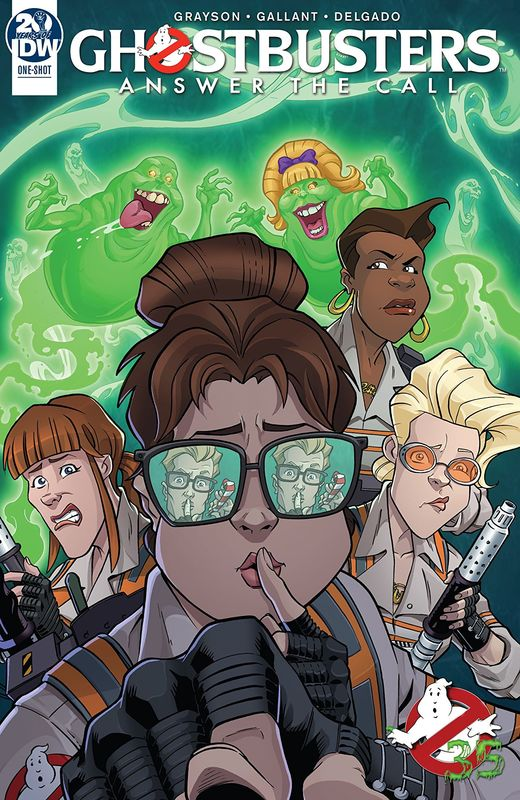 Ghostbusters: Answer The Call - (35th Anniversary) by Devin Grayson
