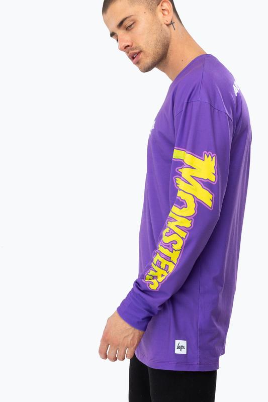 Just Hype: Men's L/S T-Shirt - Universal Monsters XL