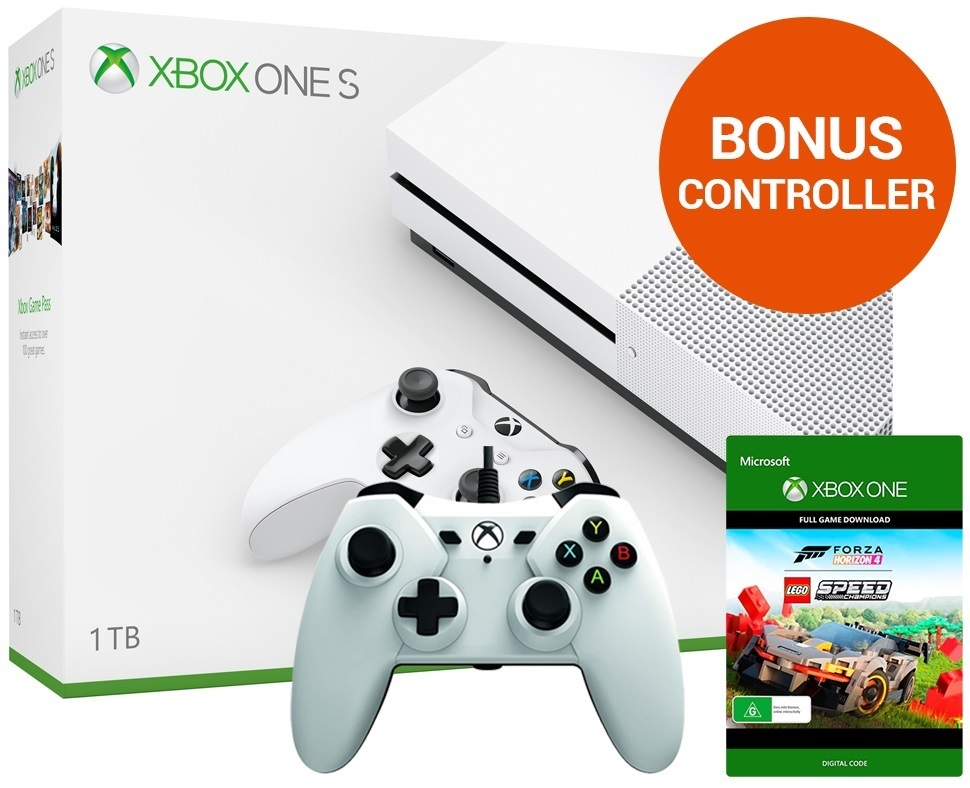 Xbox One S 1TB Forza Horizon 4 LEGO Speed Champions Console Bundle for Xbox One image