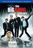 The Big Bang Theory: The Complete Fourth Season on DVD