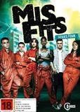Misfits - Series Four DVD