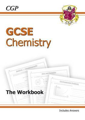 GCSE Chemistry Workbook (Including Answers) (A*-G Course) by CGP Books image