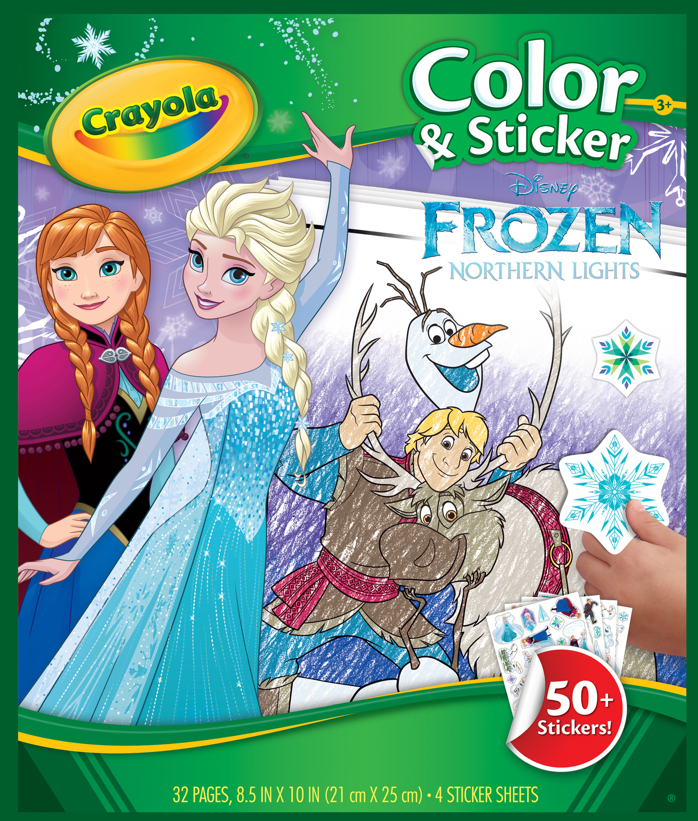 Crayola: Colour N Sticker Book - Frozen image