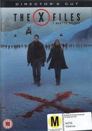 X Files Movie: I Want To Believe (Director's Cut) on DVD
