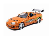 Jada: 1/18 Brian's Orange Fast & Furious Original Supra Diecast Model