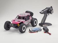 Kyosho 1/10 Axxe Readyset Electric Powered Type 6 - (Pink)