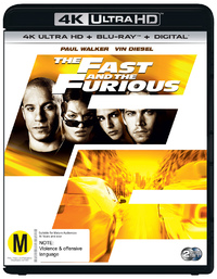 The Fast & The Furious on UHD Blu-ray