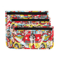 Bumkins: Clear Travel Bag - Wonder Woman (3 Pack)