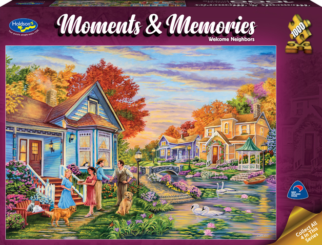 Holdson: 1000 Piece Puzzle - Moments & Memories (Welcome Neighbours)