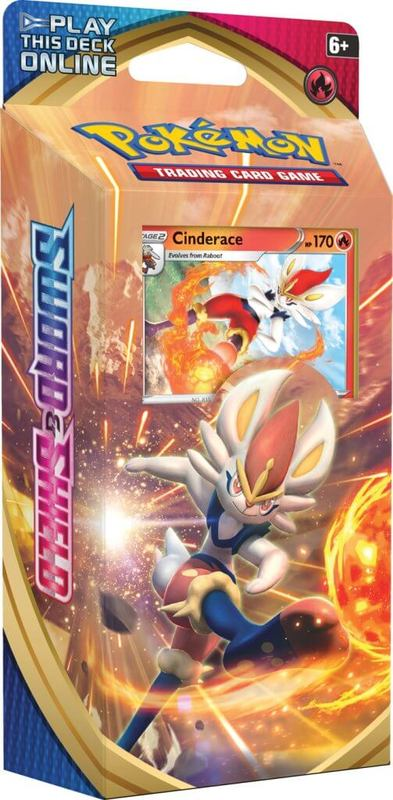 Pokemon TCG: Sword and Shield Theme Deck- Cinderace