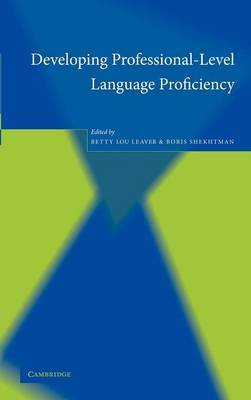 Developing Professional-Level Language Proficiency image