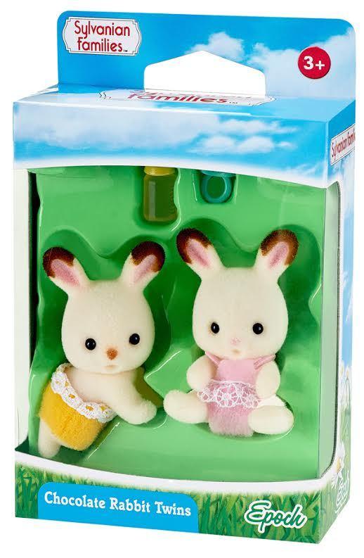 Sylvanian Families: Chocolate Rabbit Twin Babies Set image