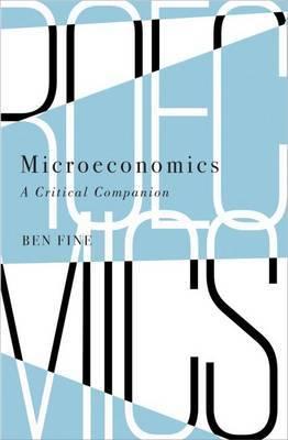 Microeconomics by Ben Fine