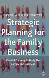 Strategic Planning for The Family Business by Randel S Carlock image