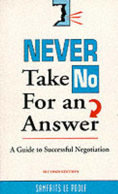 Never Take No for An Answer by Samfrits Le Poole image
