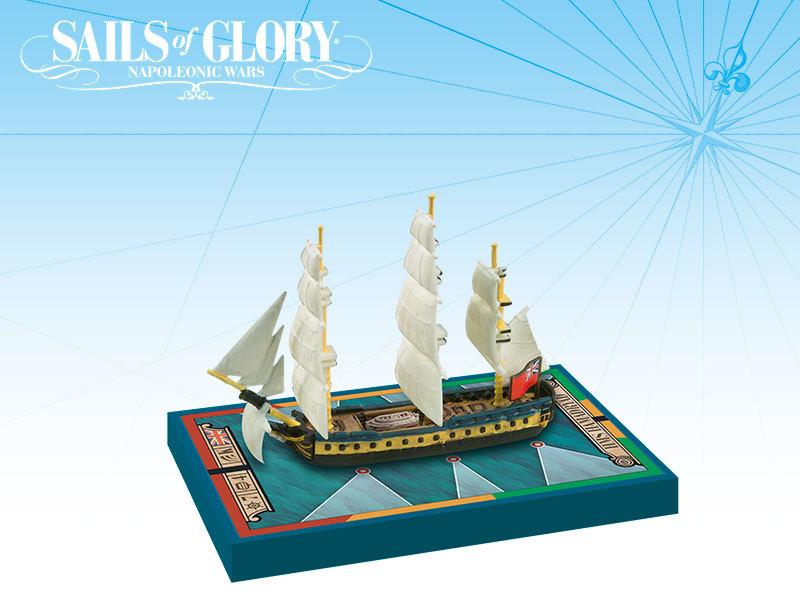 Sails of Glory - HMS Hamadryad 1797 / HMS Mahonesa image