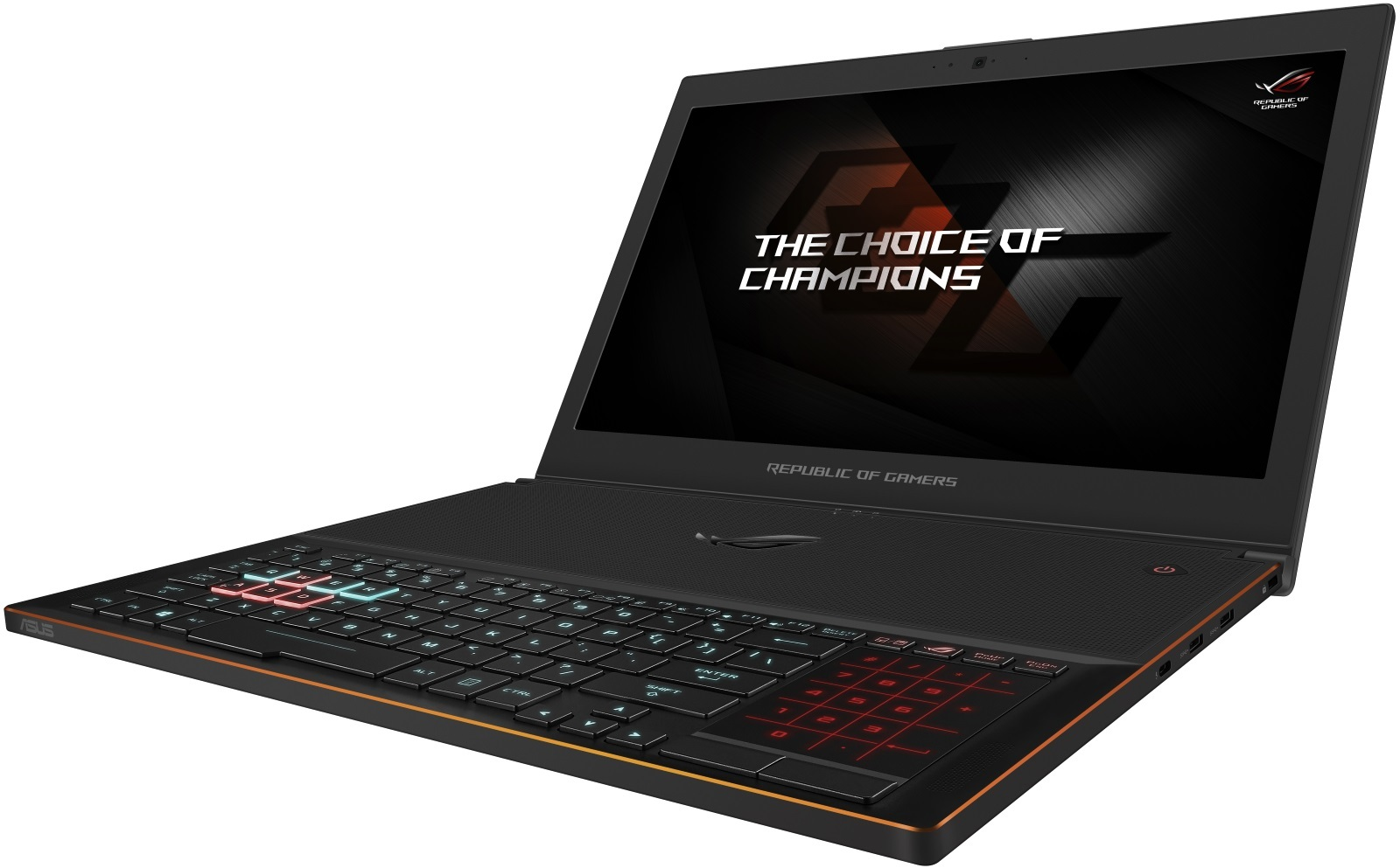 "ASUS Zephyrus 15.6"" Gaming Laptop | Intel Core i7 | NVIDIA GTX 1070 8GB | 16GB RAM + 512GB SSD | image"