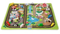 Melissa & Doug: Road Rug - Deluxe Play Set