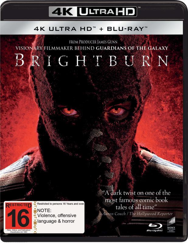 Brightburn on UHD Blu-ray