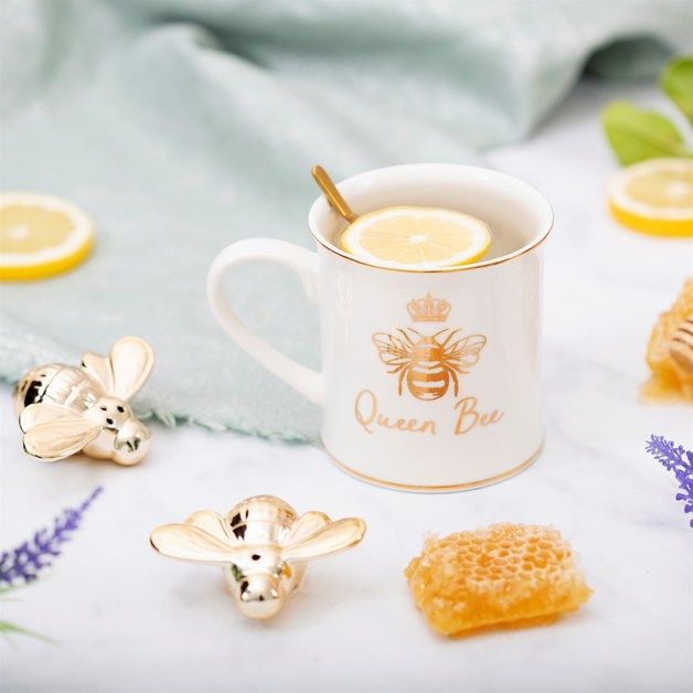 Sass & Belle: Queen Bee Mug - (400ml)