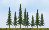 "JTT Scenic Spruce Trees 4""-6"" (24pk) - H0 Scale"