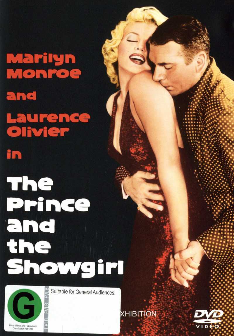 Prince and the Showgirl on DVD image