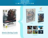 Howl's Moving Castle - 10th Anniversary Limited Edition on DVD, Blu-ray