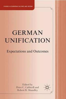 German Unification by Peter C. Caldwell image